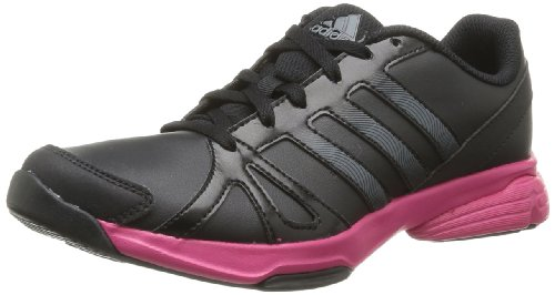 Adidas Womens Sumbrah 2 Indoor Shoes Black Schwarz (Black 1 / Night Met. F13 / Blast Pink F13) Size: 41 1/3