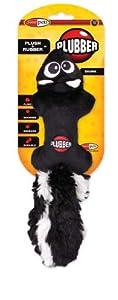 Jakks Plubber Dog Toy, Skunk, Small