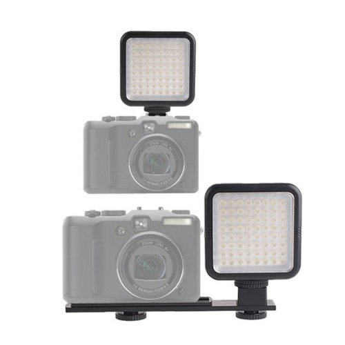64 LED Photo Video Light Fill Light News lamp for Canon, Nikon, Pentax, Panasonic, Samsung and Olympus Digital SLR Cameras ( YONGNUO SYD-0808 )
