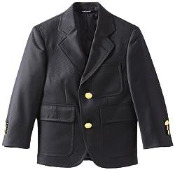 Brooks Brothers Little Boys' Navy Two Button Blazer Junior, Blue, 6