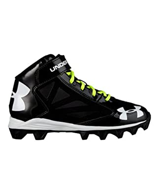 Buy Under Armour Big Boys' UA Crusher Mid Football Cleats by Under Armour