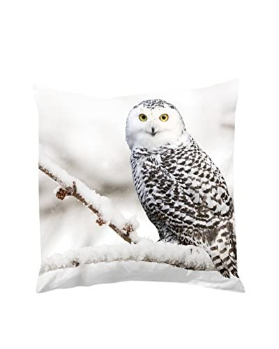 Good Morning! Funda De Cojín Snowy Owl