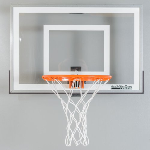 Wall Mounted Mini Basketball Hoop - Mini Pro 2.0 (Just In Tyme Sports Mini Hoop compare prices)