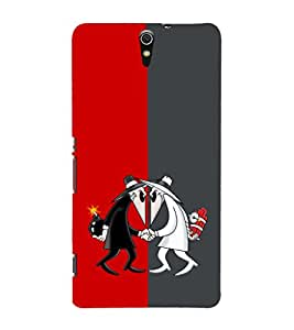 EPICCASE Mysterious Detectives Mobile Back Case Cover For Sony Xperia C5 (Designer Case)