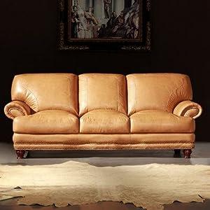 Amazon Thomas Leather Sofa