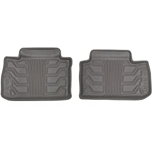 Lund 383276-G Catch-It Vinyl Grey Rear Seat Floor Mat