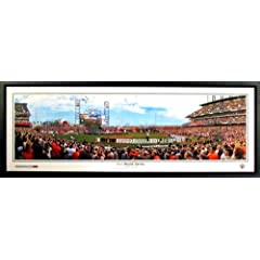 San Francisco Giants 2012 World Series Game 1 Panoramic Framed