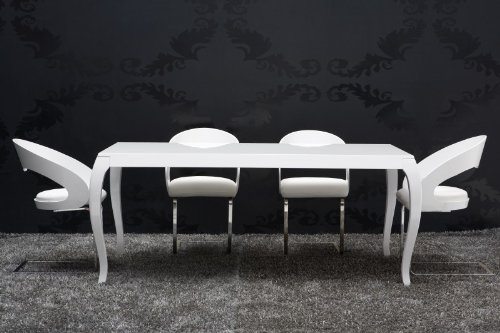 Esstisch Barock Weiß – Com.Forafrica