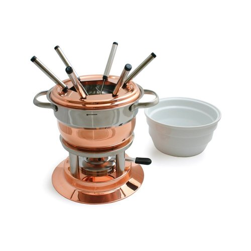Swissmar F66415 Lausanne 11-Piece Copper Fondue Set