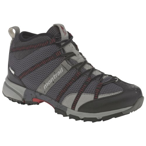 Buy Montrail, Mens Mountain Masochist Mid OutDry Shoe, Grill Red, Sz 9 by Montrail