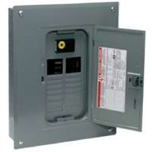 Square D Main Breaker Load Center 100 Amp 20 Space 20 Circuits Bx