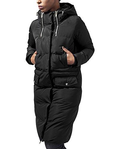 Urban Classics Ladies Bubble Coat, Giubbotto Donna, Nero (Black 7), 46