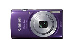 Canon PowerShot ELPH135 Digital Camera (Purple)