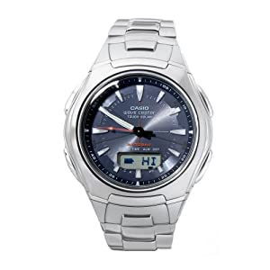 Casio Men's WVA430DJ-1A Waveceptor Solar Atomic Ana-Digi Sport Watch