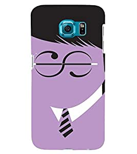 PrintVisa Funny Harry Potter Design 3D Hard Polycarbonate Designer Back Case Cover for Samsung Galaxy S6 Edge