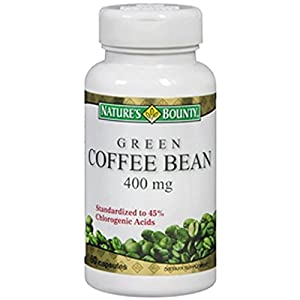 Natures Bounty Green Coffee Bean Supplement, 60 Count