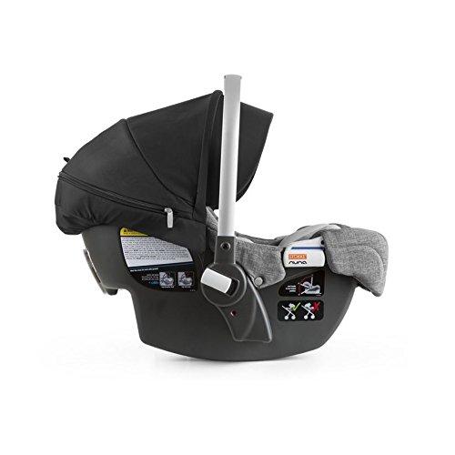 stokke pipa by nuna car seat grey melange. Black Bedroom Furniture Sets. Home Design Ideas