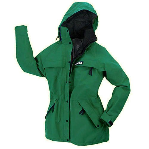 TAIGA Women's Chamonix Gore-Tex Jacket, Windbreaker, Rain Jacket, Ski Jacket, Teal, MADE IN CANADA