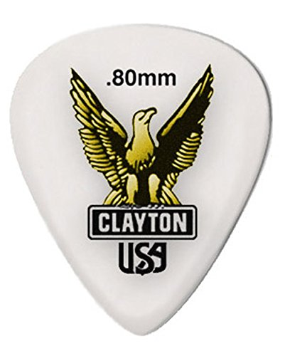 clayton-acetal-guitar-picks-standard-shape-80mm-12pcs