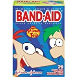 Johnson & Johnson Band-Aid Disney Phineas and Ferb Assorted 20-Count (Pack of 6)