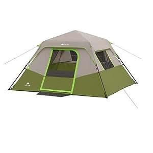 Amazon.com : Ozark Trail 6-Person Instant Cabin Tent 10' x ...
