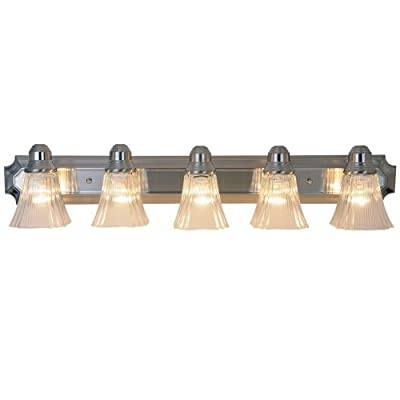 AF Lighting 617054 36-Inch Decorative Vanity Fixture, Brushed Nickel Finish