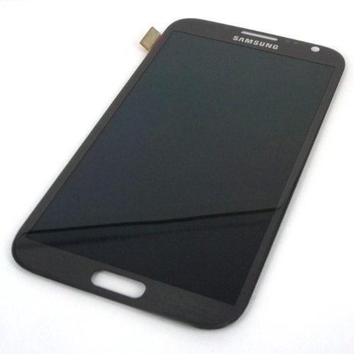 Generic Full Lcd Display Touch Digitizer Glass Compatible For Samsung Galaxy Note Ii 2 N7100 Gray