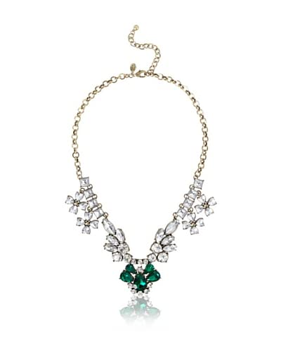 Leslie Danzis Jeweled Crystal Shimmer Necklace