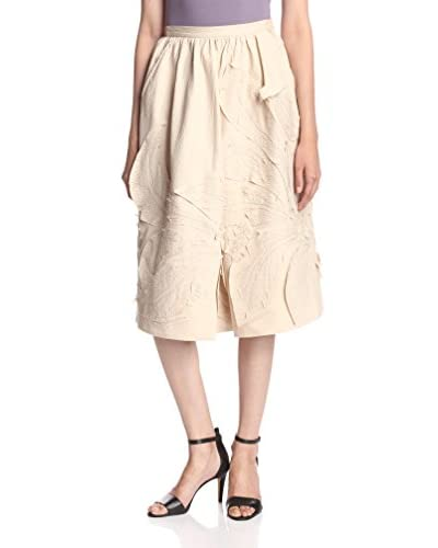Natori Women's Embroidered Skirt