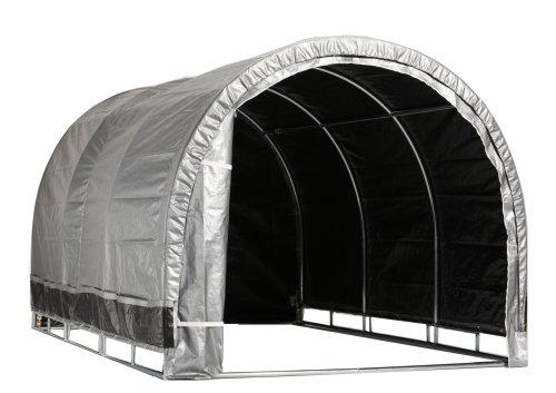 Instant Storage Garage - Storage Solutions Lawn, Garden and Auto Shelter - Year Round or Temporary - Waterproof, Rust Resistant (8'W x 8'L x 6'6