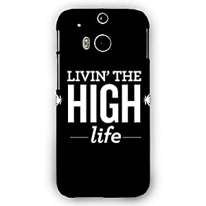 EYP Weed Quotes Back Cover Case for HTC One M8 Eye