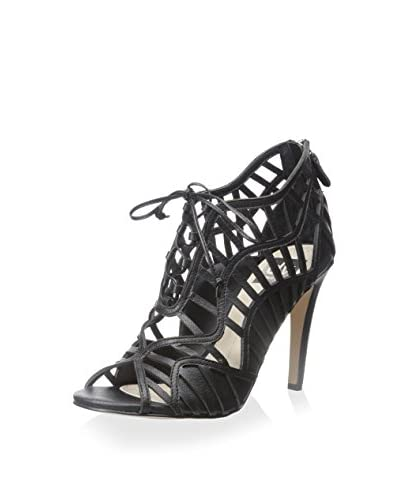 DV by Dolce Vita Women's Timba High Heel Caged Sandal  [Black]