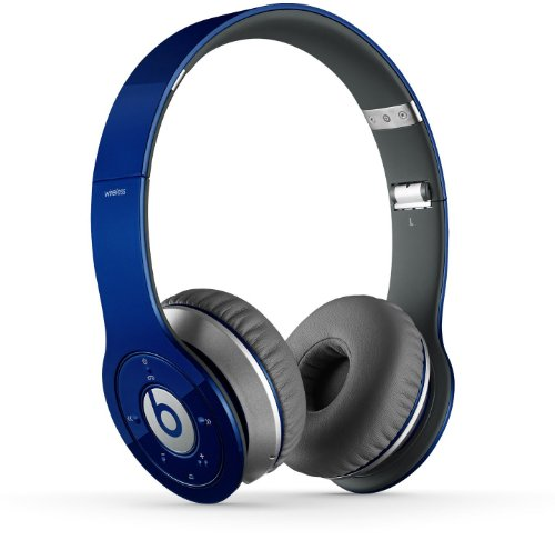 Beats by Dr. Dre WIRELESS | Beats Wireless On-Ear Headphone (Blue 900-00170-01)
