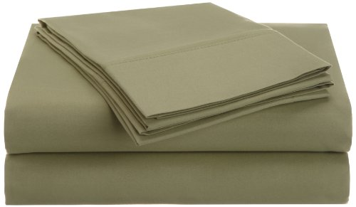 Impressions 1500 Series Wrinkle Resistant Queen 4-Pc Sheet Set Solid, Sage front-236808