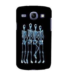 printtech Funny Xray Skeleton Back Case Cover for Samsung Galaxy J7 / Samsung Galaxy J7 J700F (2015 EDITION)