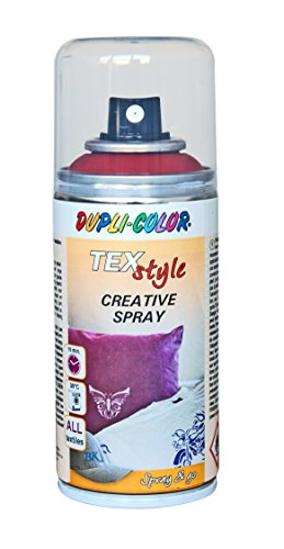 duplicolor 319884 peinture textile spray rouge 150 ml. Black Bedroom Furniture Sets. Home Design Ideas