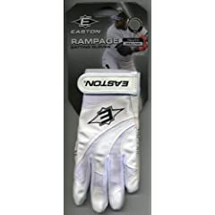 Buy Easton Rampage Youth Kids Batting Gloves - Small by Easton