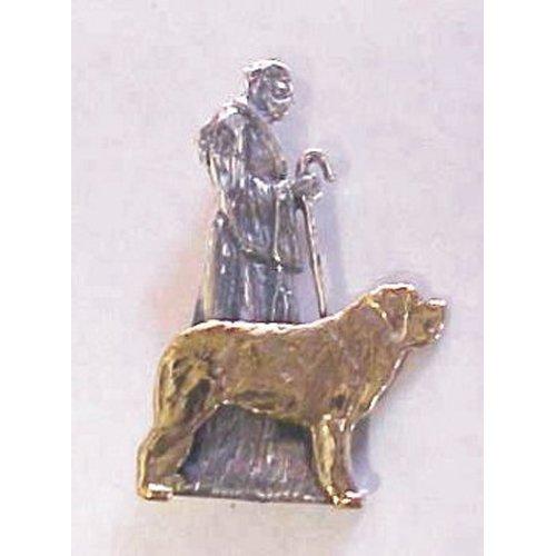 Saint Bernard Breed Origin Pin