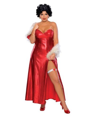 Betty Boop Starlet Plus Size Halloween Costume - Adult Plus