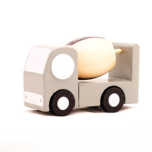 Mini Wooden Car Concrete,T00077 - 1