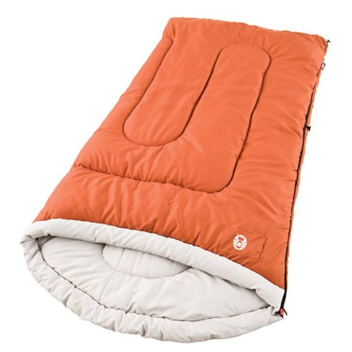 Coleman Sabine Large Cold-Weather Scoop Sleeping Bag front-908451