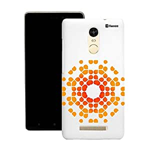 Customizable Hamee Original Designer Cover Thin Fit Crystal Clear Plastic Hard Back Case for Motorola Moto X Play (Radiant Orange Design)