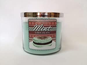 Bath Body Works Mint Chocolate 3-Wick Scented Candle