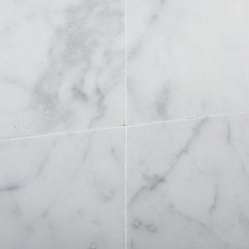 12″ X 12″ Bianco Carrara White Marble Honed Field Tile – 6″ X 6″ Sample