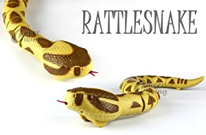 Radio Controlled RC Rattlesnake Rattle Snake Animal Toy 777