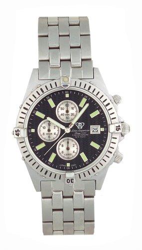 Jules Jurgensen Men's Chronograph Watch #7668SS - Buy Jules Jurgensen Men's Chronograph Watch #7668SS - Purchase Jules Jurgensen Men's Chronograph Watch #7668SS (Jules Jurgensen, Jewelry, Categories, Watches, Men's Watches, Sport Watches, Metal Banded)