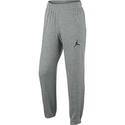 Jordan Men's Nike All Around Jumpman Sweatpants-Grey-Large