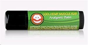 Merry Hempsters Cool Hemp Muscle Rub -- 0.6 oz