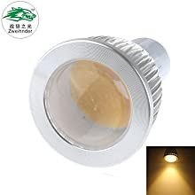 GU10 7W 650LM 3000-3500K 1xCOB LED Warm White Spotlight new productsAC 220-240V1Pcs  Warm White
