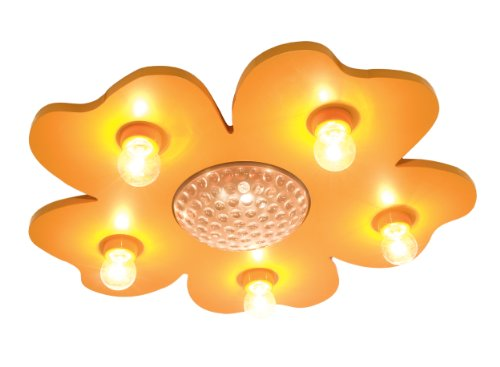 Niermann Standby Happy Flower Ceiling Lamp, Yellow - 1